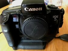 Canon EOS 5 35mm Film Camera Body  with Canon Vertical Grip VG10