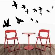 Home Decor New 3D Bird Wall Stickers Art Design Decal PVC Decoration