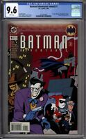 Batman Adventures Annual 1 CGC Graded 9.6 NM+ Harley Quinn DC Comics 1994
