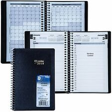 """2018 Brownline C2504.81T Daily Planner Appointment Book, 8 x 5"""""""