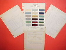 1950 DODGE WAYFARER MEADOWBROOK CORONET CONVERTIBLE CLUB COUPE PAINT CHIPS +