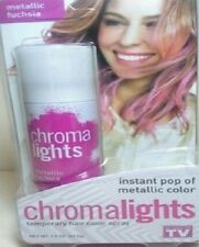 CHROMA LIGHTS Temporary Hair Color Spray INSTANT POP of METALLIC COLOR FUCHSIA