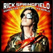 CD RICK SPRINGFIELD SONGS FOR THE END OF THE WORLD + 2 BONUS TRACKS NEW SEALED