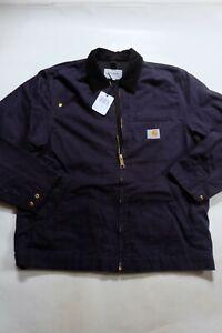 Jacket CARHARTT Detroit Jacket (Dark Navy Rinsed) Size L