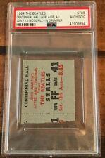 The Beatles Concert Ticket Stub | ADELAIDE AUSTRALIA 1964 | Jimmie Nicol | PSA