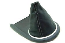Fits 03-08 Hyundai Tiburon Synthetic Leather Manual Shift Boot Gray Stitch