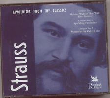 JOHANN STRAUSS II - FAVOURITES FROM THE CLASSICS - 3 CD SET (2000) WALTZES ETC