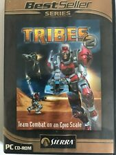 pc retro game Tribes 2 pc cd-rom team combat
