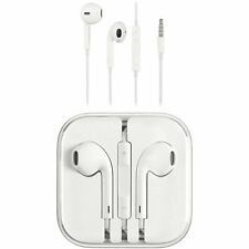 New Genuine Original APPLE iPhone EarPods Earphones With Remote & Mic in Case