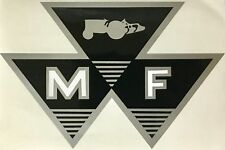 "New Massey Ferguson MF Tractor Triple Triangle 6"" Decal Sticker 79024561V"