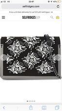 Tes Baker Larisa Leather Embellished Crossbody Medium Bag RRP£199 BNWT
