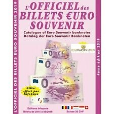 2019 OFFICIEL DES BILLETS EURO NON MONETAIRES TOURISTIQUES ET TEMPORAIRES