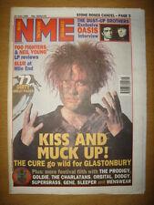 NME 1995 JUN 24 CURE OASIS FOO FIGHTERS BLUR SUPERGRASS