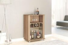 Boahaus Modern Mini Bar 2 door, 4 claster & Wine Rack