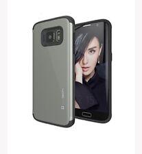 Slimtech Dual Layer Metallic Brush Back Plate Cushy TPU Case Samsung G
