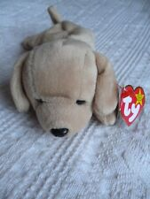 Rare Ty Beanie Baby Fetch with tag errors 1997 on Ty tag 1998 other tag