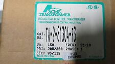 ACME  150 VA 208/380x95/115 Volt Transformer- T1042  NEW