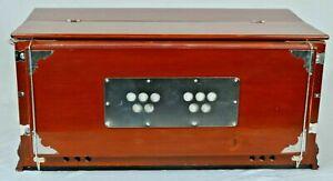 Harmonium 7 Stopper Multi Faltenbalg 39 Schlüssel 440Hz Indisch Musikinstrument