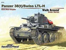 Panzer 38(t) / Swiss LTL-H Walk Around, German tank (Squadron Signal 5713)