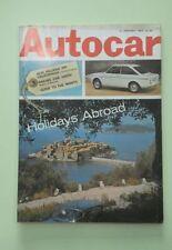 Autocar January Cars, 1960s Transportation Magazines