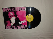 "Bass Bumpers ‎– Runnin' (Remixes) Disco Mix 12"" Vinile ITALIA 1993 Euro House"