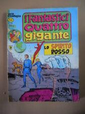 I FANTASTICI QUATTRO GIGANTE n°6 1978 ED. Corno  [SP14]