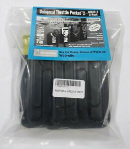 New Rail Models 40020-3 Universal throttle pocket 2 (3 pack)