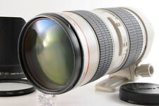 【TOP MINT】CANON EF 70-200mm F/2.8 L USM Telephoto Lens + ET-83 HOOD Filter JAPAN