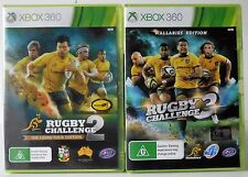 Rugby Challenge 3 Wallabies Edition and Rugby Challenge 2 Xbox 360