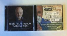 Dave Ramsey High-Performance Achievement (Audio CD) + Personal Finance Software