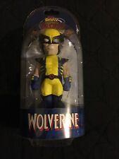 Marvel Comics Xmen Wolverine Neca Body Knocker Toy Figure Solar Powered