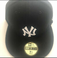 New York Yankees Fitted Hat Black