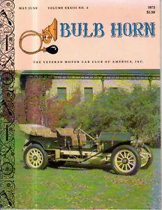 1972 Bulb Horn VMCCA May-Mercedes star; Mercer; Knight; Tarpon Springs; Model T