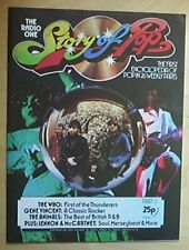 ANIMALS STORY OF POP NO.11 MAGAZINE 1974 - ANIMALS COLOUR COVER WITH MORE INSIDE