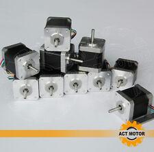 ACT Motor GmbH 10 PCS Nema17 Schrittmotor 17HS5425 2.5A 48mm 4800g.cm 3D Drucker