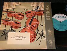 "MICHAILOW-QUARTETT Mozart Streichquartett F-dur.../ DDR 10""EP 1958 ETERNA 720022"