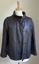 Vintage 1960s BONNIE CASHIN SILLS & CO Quilted Glove Leather Coat, MOTO Boxy SZ?