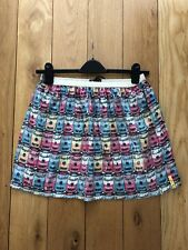 """PEPE ANDY WARHOL CAMPBELL SOUP """"KISSES"""" SEQUIN SKIRT SIZE 12 BNWT"""