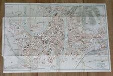 1927 ORIGINAL VINTAGE CITY MAP OF VERONA / VENETO / ITALY
