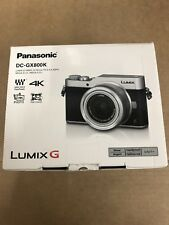 Panasonic Lumix DC-GX800KEBS Compact Digital Camera 4K 16MP Silver