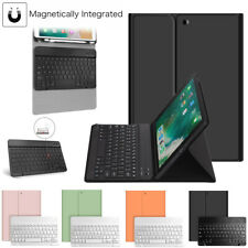 "For iPad 7th Gen 10.2"" 2019 Bluetooth Keyboard Case Stand with Pencil Holder US"
