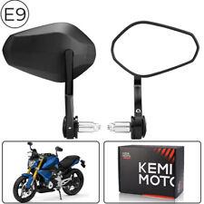 Motorrad 22mm Lenkerendenspiegel für BMW Kawasaki Honda KTM Yamaha E-geprüftes