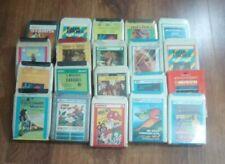 Lotto Stock 20 Cassette Stereo 8 Nuove Sigillate Vari Generi #05