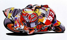 Marc Marquez 93 adesivo moto piega gomito sticker motogp adesivi caricatura MM93