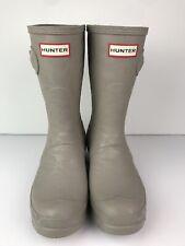 Hunter Original Water Texture Short Rain Boot Size US 7