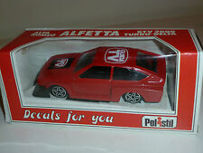 Alfetta GTV 2000 Turbo Delta POLISTIL 1/41 MADE in ITALY SCATOLA e DECALS NUOVA