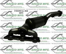 Catalytic Converter-Exact-Fit - Manifold Rear Davico Exc CA 18272