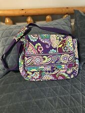 Vera Bradley Heather Purple Mailbag/Crossbody VGUC