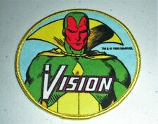 RARE VINTAGE VISION AVENGERS 1986 MARVEL COMICS PATCH NEW & UNUSED!!