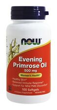 Evening Primrose Oil 500mg 100 Softgels by NOW Foods